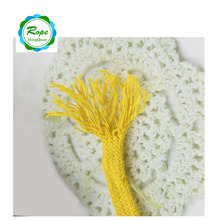 High quality 10mm colored decorative cotton rope for garment