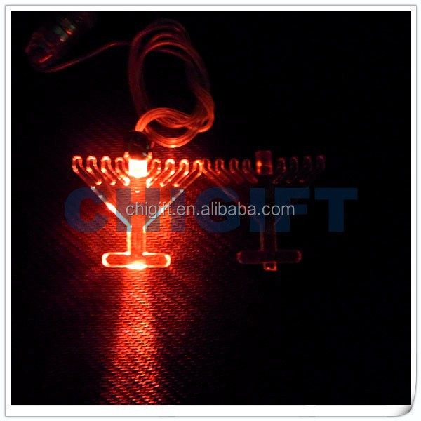 Most Popular Products LED Lighted Designed Flash Necklace
