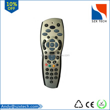 High Quality Silvery+Black Sky + Factory supply HD Remote Control REV 9 sky universal remote control for UK