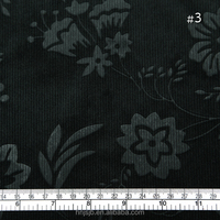 green color China fasion dress fabric haining warp knitting embossed cation polyester velvet fabric