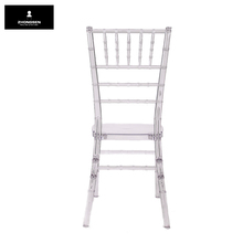 Cocktail Table Wedding Wooden Chiavari Chair White Resin Chiavari Chair