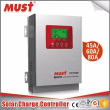 High effciency mppt 99% solar charge controller 60A