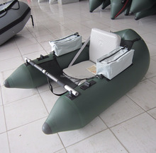 OEM PVC inflatable belly boat for fishing