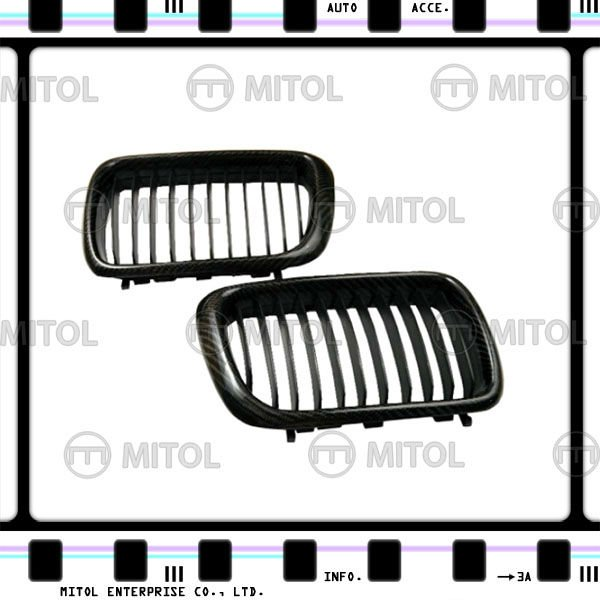 Carbon Fiber Front Grille for BMW E36 Car Grills Auto Accessories