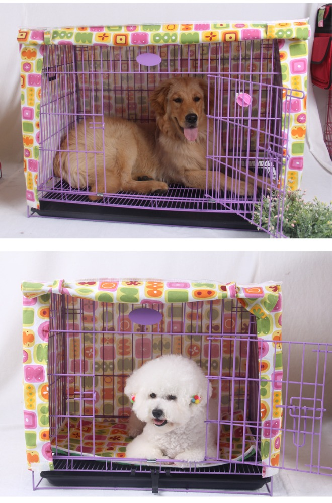 Redhill Multi-function Washable Folding winter wire dog cage cover
