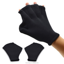 Neoprene Swim Diving hand paddle Training Gloves