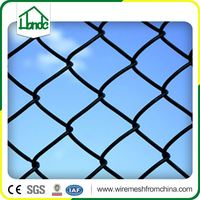 cheap removable vinyl pvc coated chain link fence