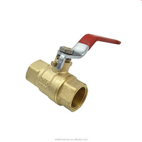 600 wog brass ball valve for hot water boilers system in China manufacture