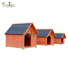 Factory direct supplier handmade outdoor Wooden Dog kennel