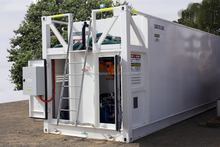 Fuel storage farm, fuel dispensing equipment, mobile refueling station