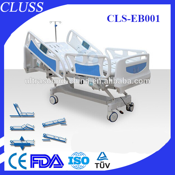 Used in ICU room electronic bed CLS-EB001 electric hospital bed