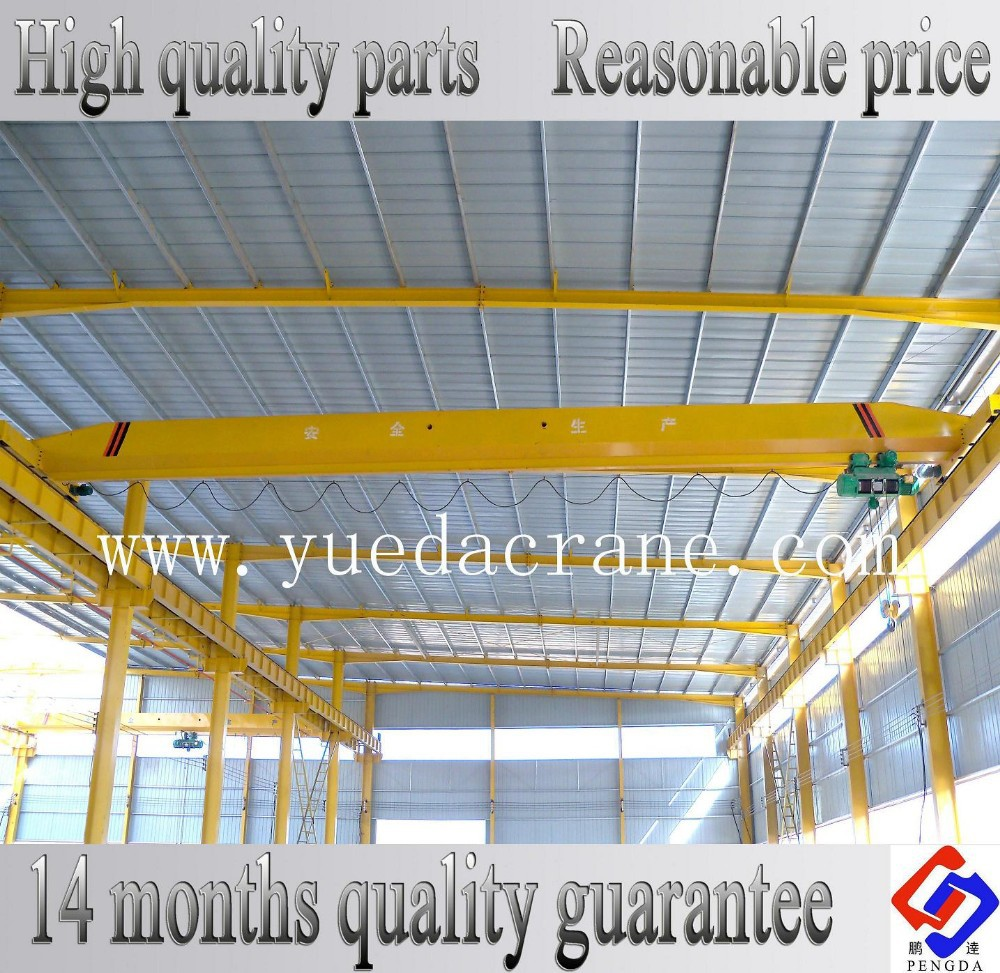 LD Model 1~20ton Single Beam Travelling Overhead Crane Price