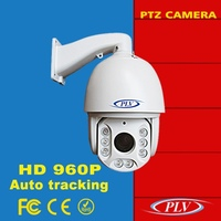 1.3m p 960p ptz cctv i auto motion tracking ptz ip ir dome camera infrared