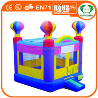 HI CE cheap color middle inflatable jumpers for toddlers