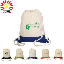 Customized Polyester Fabric Drawstring Sport & Shopping Backpack with Your Design