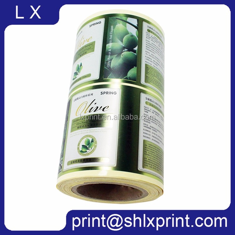Custom Printed Adhesive Roll Label Sticker