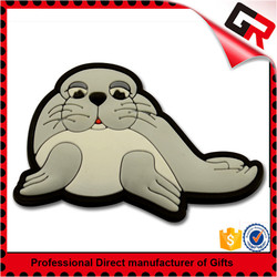 Souvenir promotion 3d pvc fridge magnet