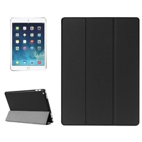 Custer Texture Horizontal Flip Smart Leather Case with 3-folding Holder for iPad Pro