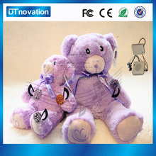 Multi-function cute small recording musical plush teddy bear