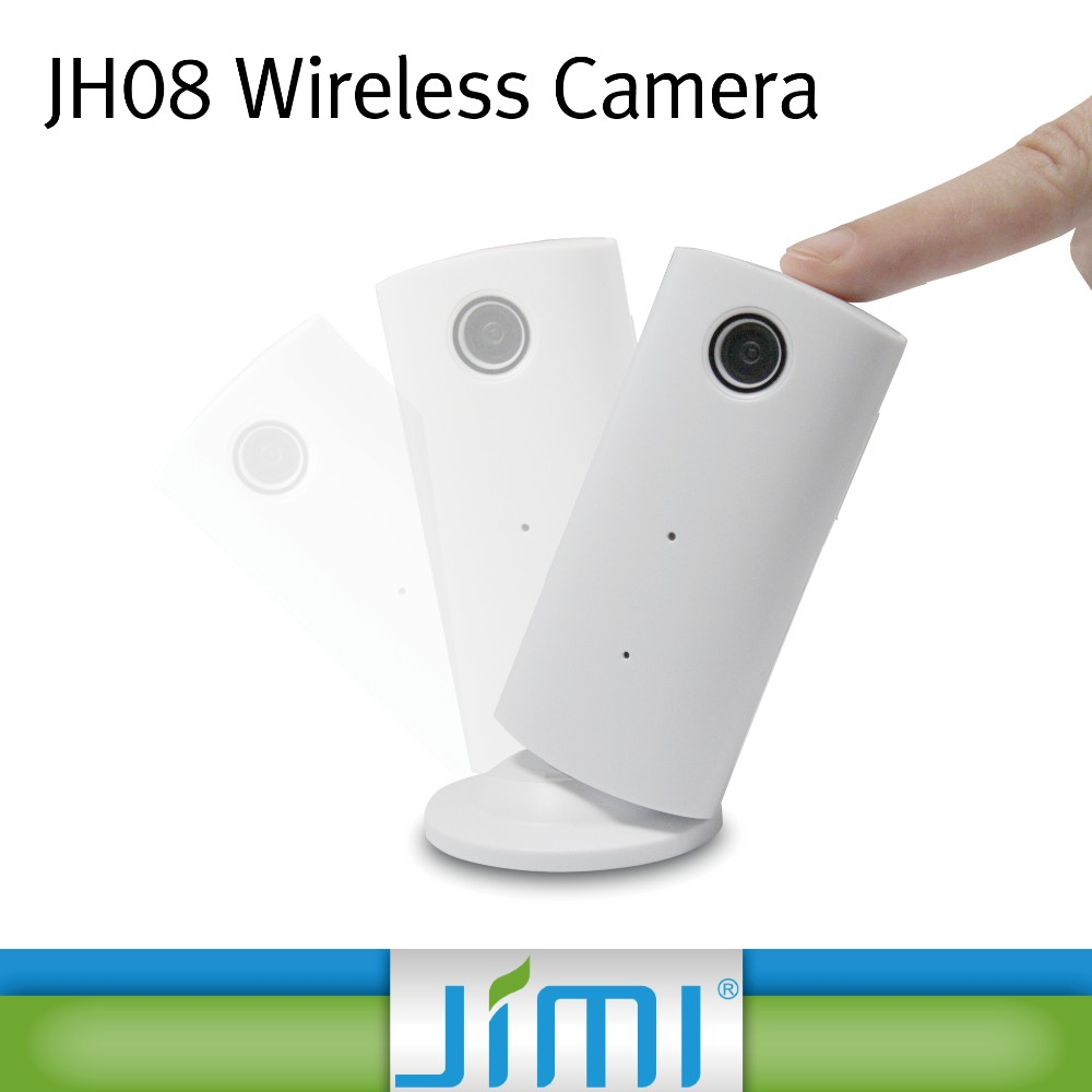 Jimi wifi surveillance nanny camera with android/ios app control alarm system ip camera JH08