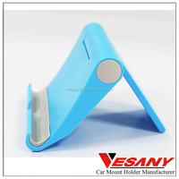 Vesany Free Sample Good Selling Eco-friendly Rubber Adjustable Folded Rotatable Mobile Phone Holder for Desk