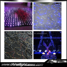 led twinkle star glowing cloth light led falling star lights