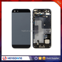 Wholesale Genuine for iPhone 5 Metal Housing case Back Cover Assembly for iPhone 5, Battery Door Replacement for iPhone 5