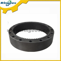 Excavator level 2 final drive ring gear for caterpillar CAT320C CAT320D