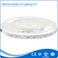 5050 Nonwaterproof IP20 RGBW 60LED UL certificate small battery operated led strip light