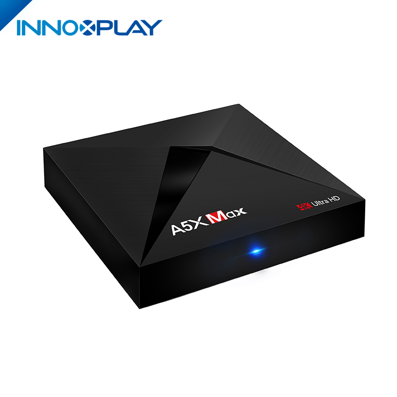 MAX A5X Stable Quality 3GB 4GB RAM 16GB 32GB ROM Smart Android 7 TV Box For Indian