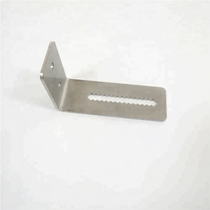 Custom Adjustable stainless steel light angle bracket by stamping service