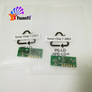 Reset chip for toner cartridge T-2802 D E P high quality chip for use in 2802A 2802AM 2802AF