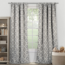 Modern Used hotel drapes blackout printed curtain for sunshade