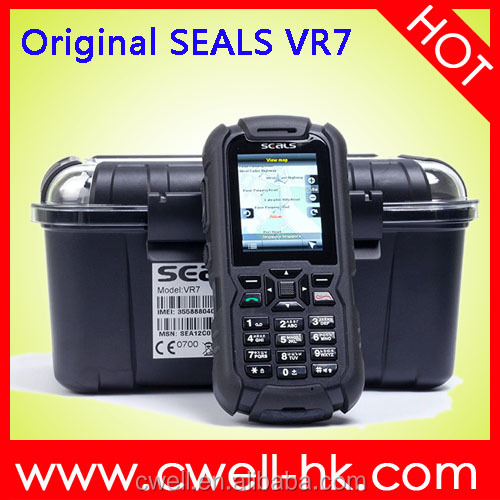 SEALS VR7 IP67 waterproof GPS Rugged Cell Phone 2inch LED Torch E-compass JAVA Unlocked