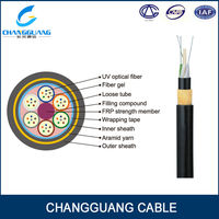 Aerial Fiber Optic Cable ADSS All Dielectric fiber optic cable camera