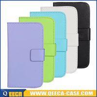 wholesale price leather flip case back cover for htc desire 500