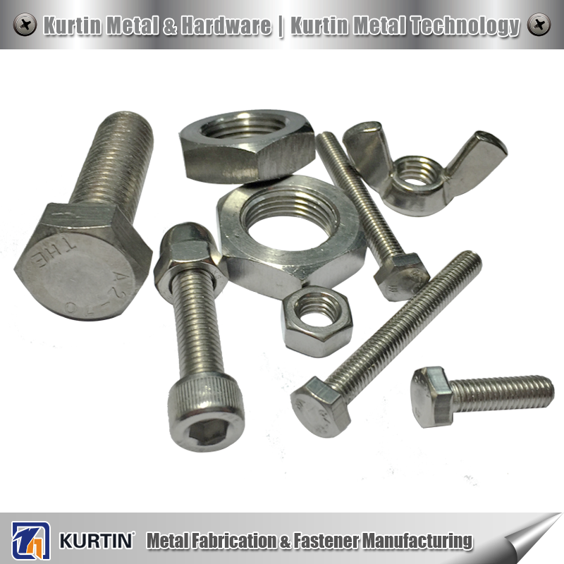 ss steel 304 nut and bolt manufacturer for railway system