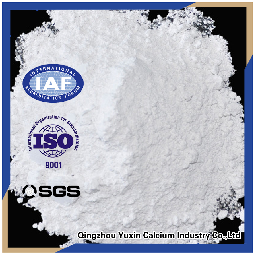 rubber use Superfine light calcium carbonate powder price