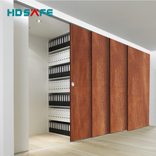aluminum hardware sliding doors for office glass doors or wood doors with synchronous system