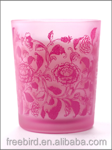Wholesale Glass Jar Candles Scent for Decoration with Different Colors