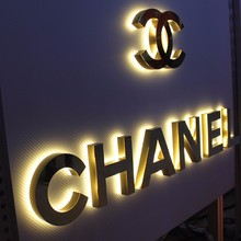 Dimensional letters custom printed acrylic letter with high quality led edge lit channel letter sign