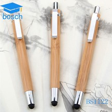 Best selling environmental protection pen,metal ball pen,wood touch stylus pen