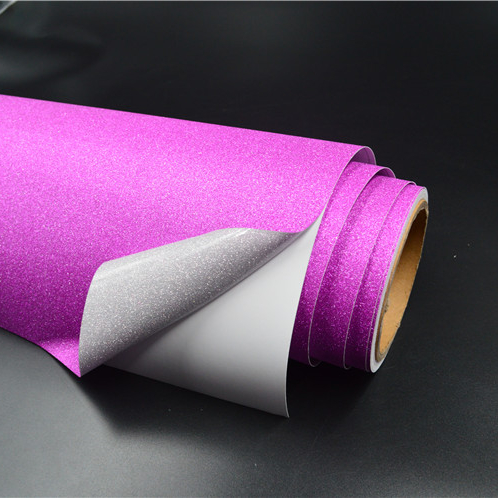 hot sale glitter adhesive vinyl <strong>rolls</strong> for cutting plotter