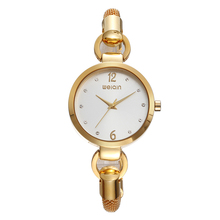 Latest WEIQIN 24k gold watches quartz watch W4838