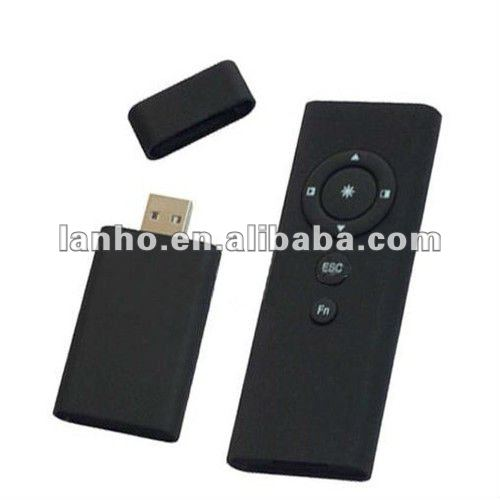 Mini Wireless Presenter PowerPoint Mouse Laser Pointer