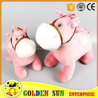 Top Quality Custom New Style Lovely stuffed horse toy plush horse