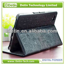 Wallet Leather case for Samsung Galaxy Tab P1000/P7300/P7500/P6800 in Guangzhou Factory