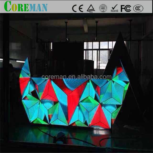 P5P6 indoor full color led screen Creative DJ