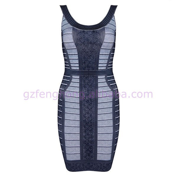 HOT ! high-grade harness bandage dress to attract a man's feminine dress HL