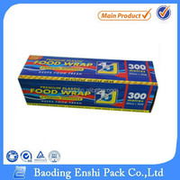 China plastic high quality pE stretch film for food wrap